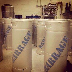Barrage Kegs